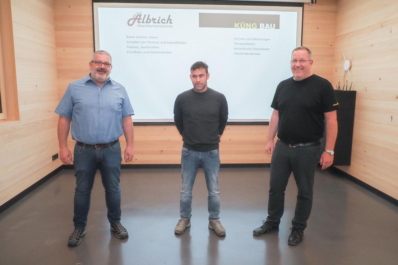 Küng Bodenbau GmbH, Thüringen, Vorarlberg, Tirol, Übernahme Albrich Oberflächentechnik