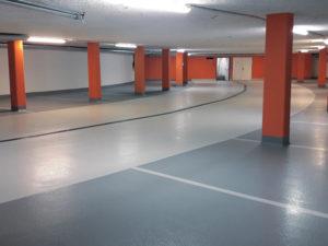 Küng Bodenbau GmbH, Thüringen, Vorarlberg, Tirol, Tiefgaragensanierung, Sanierungskonzepte, Tiefgaragenboden