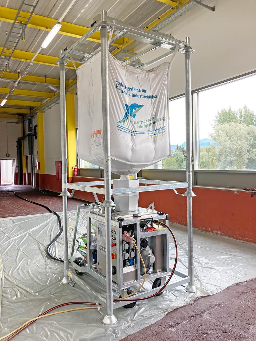 Küng Bodenbau GmbH, Thüringen, Vorarlberg, Tirol, News Universalmörtelmischpumpe